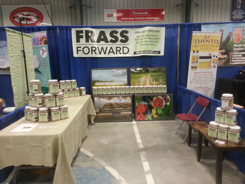 FRASS FORWARD debut at the Peterborough Garden Show
